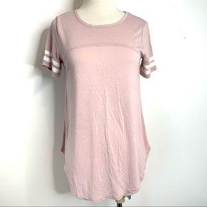 Tops - NEW Maurices women's pink top t-shirt size S